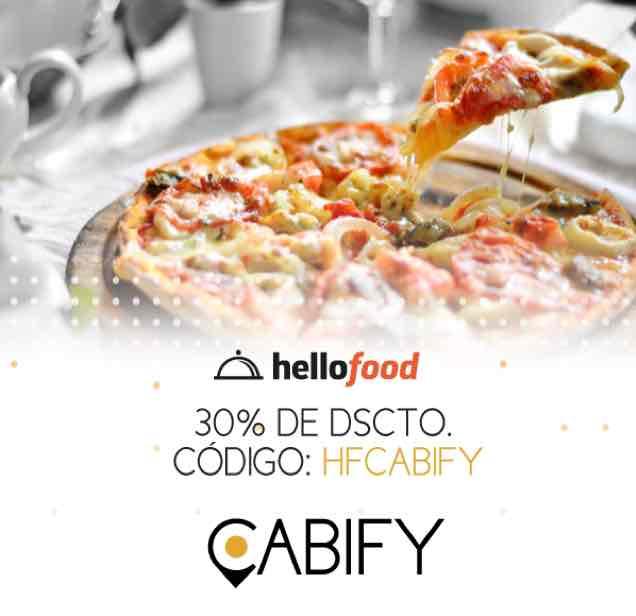Hellofood: Cupones válidos (30%, etc)