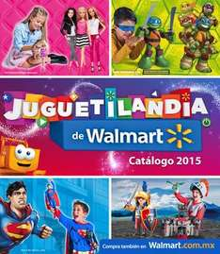 Walmart: Catálogo juguetilandia