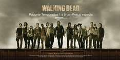 Amazon: The Walking Dead temporadas 1-5 blu-ray $899, DVD $699