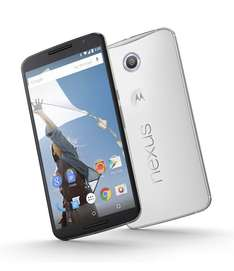 Best Buy: Motorola Nexus 6 Blanco/Negro 32GB