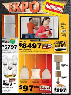 "Expo Ahorros The Home Depot: LED Smart TV de 46"" y blu-ray $8,497 y más"