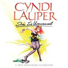 "Google Play: Album de Cyndi Lauper ""She's so unusual"" GRATIS y descuentos en discos de los 80"