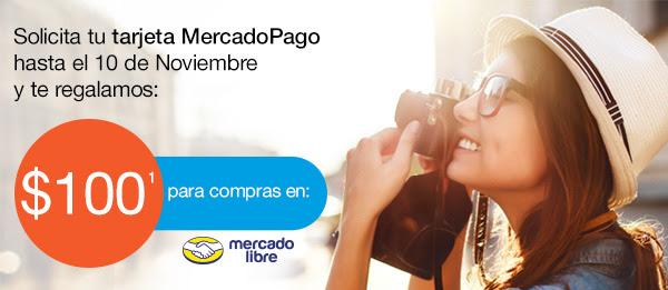 100 pesos de regalo al solicitar la tarjeta de MercadoPago (mas tips para MercadoLibre)