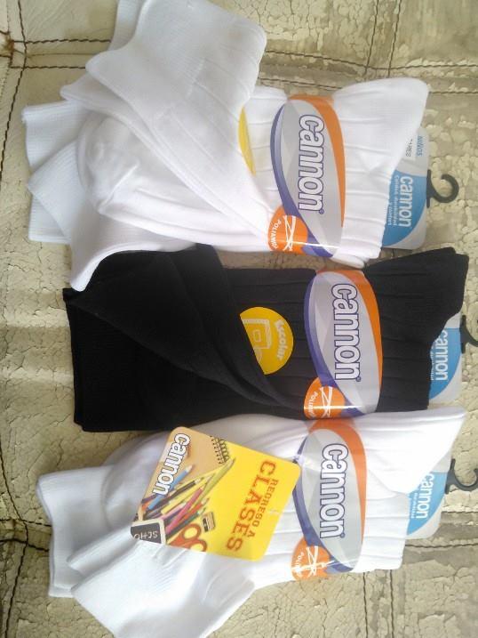 Chedraui: calcetines escolares con dos pares CANNON a $2.50 y ademas 3x2