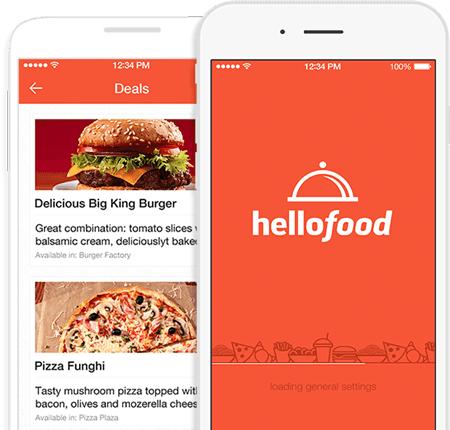 Hellofood: 30% usuario nuevos y existentes con Santander