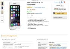 Amazon: iPhone 6 16gb Oro $7,000 + envío
