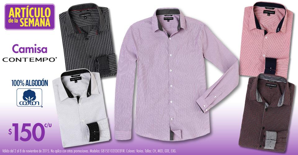 Suburbia: camisa manga larga Contempo $150