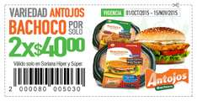 Soriana: Hamburguesas o nuggets de pollo Bachoco 2paq x$40