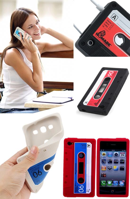 Linio: Funda Para iPhone 4/4S Tipo Cassette (Envio gratis con +LinioPlus)