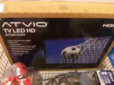 Walmart: atvio led hd 32 $299.04