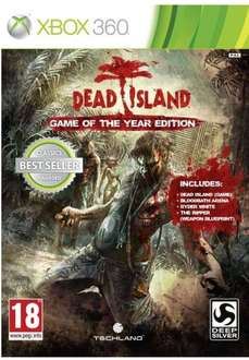 Walmart: Dead Island Game Of The Year Xbox 360 by TechLand $190 y otros