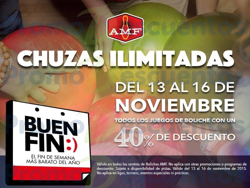 Promociones del Buen Fin 2015 en Boliches AMF