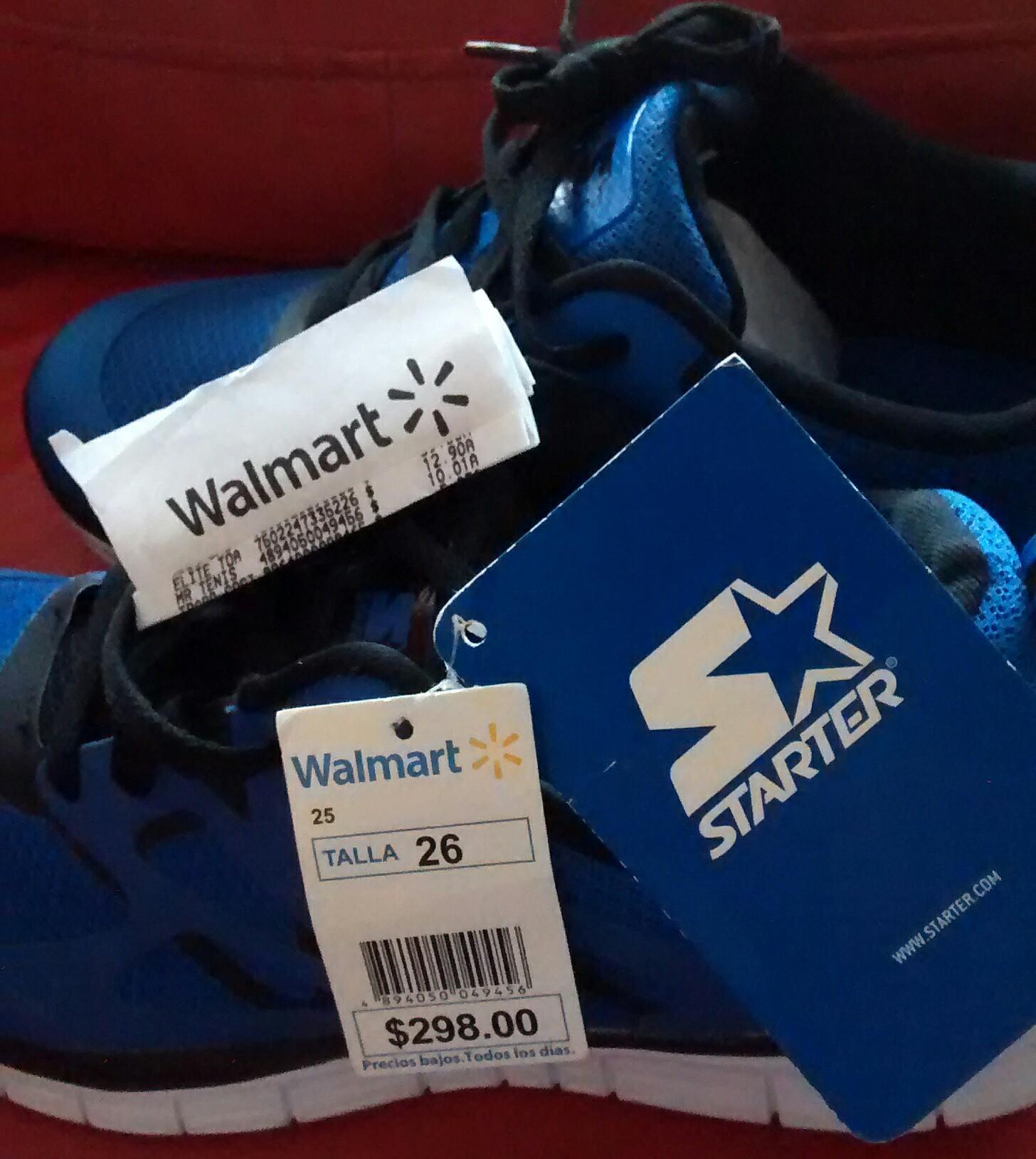 Walmart: Tenis Starter a $10.01