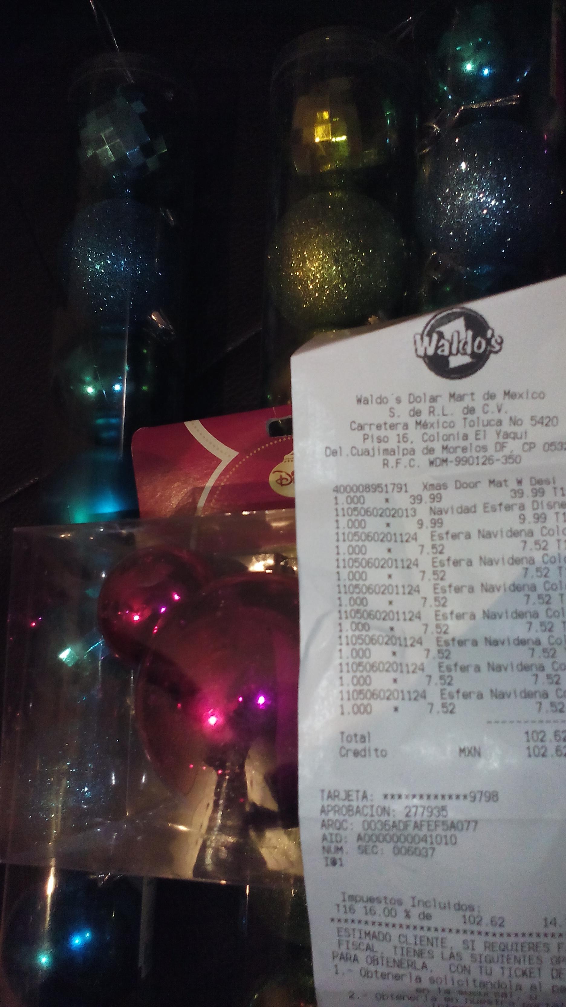 Waldos: paquetes de 7 esferas de plástico a $7.55