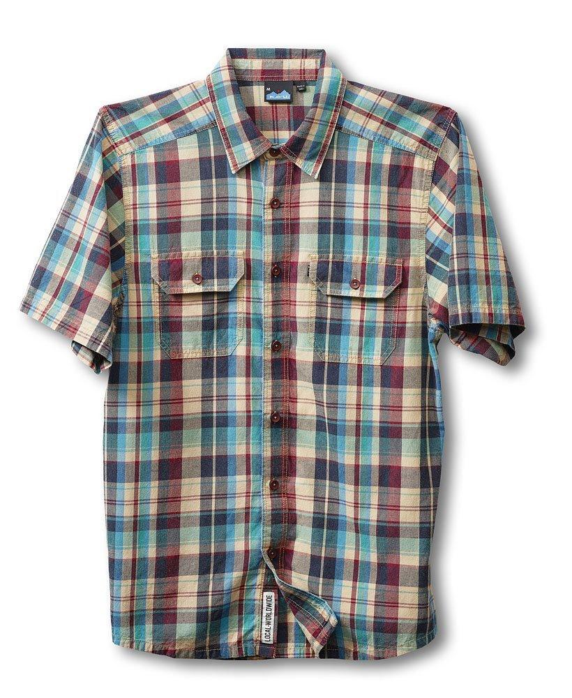 Amazon:  Camisa de cuadros Kavu Men's desde $164