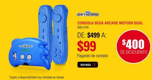 RadioShack: 2x1 en accesorios y videojuegos seleccionados, consola Sega $99 y más