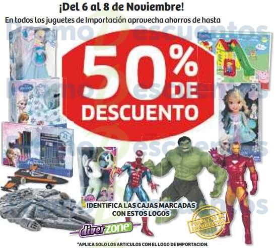Pre Buen Fin 2015 en Soriana: hasta 50% de descuento en juguetes de importación