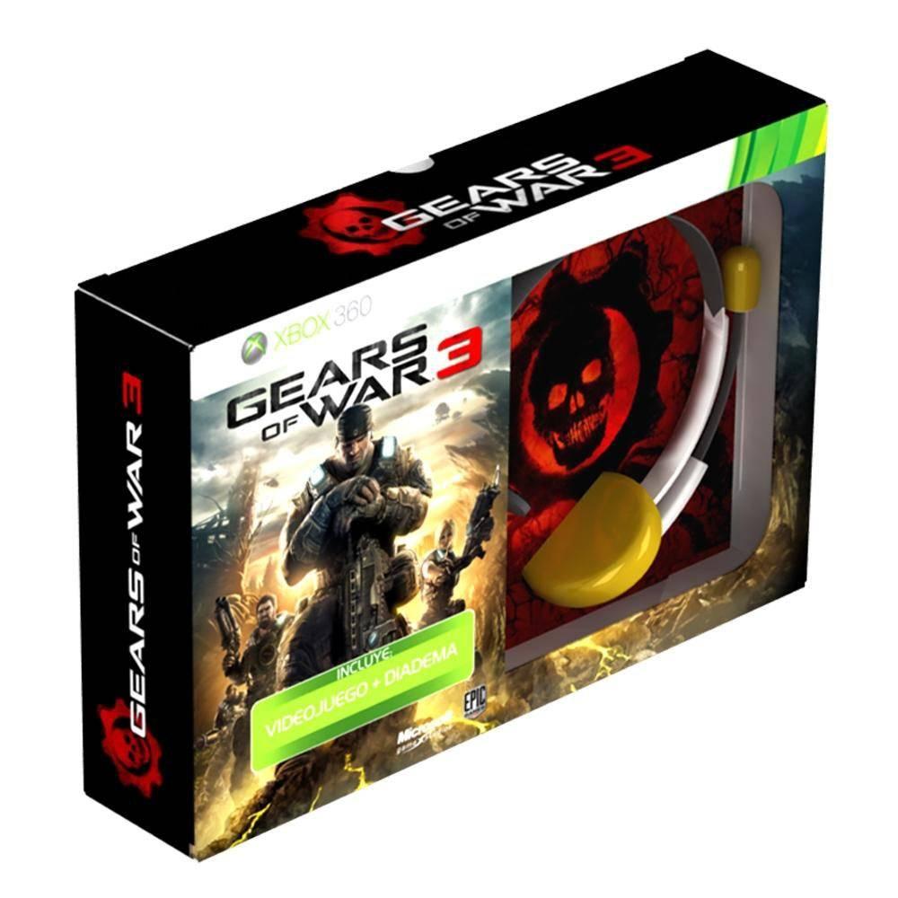 Sam's Club: Gears of war 3 mas diadema $169 // Paquete dos controles 360 $999