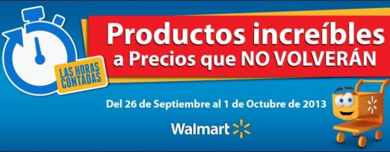 Las horas contadas en Walmart, Sams y Bodega Aurrerá del 26 de septiembre al 1 de octubre
