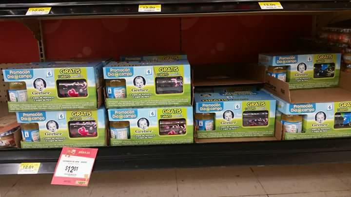 Walmart: jugo gerber 4 pak con vaso anti derrames de regalo $12.01