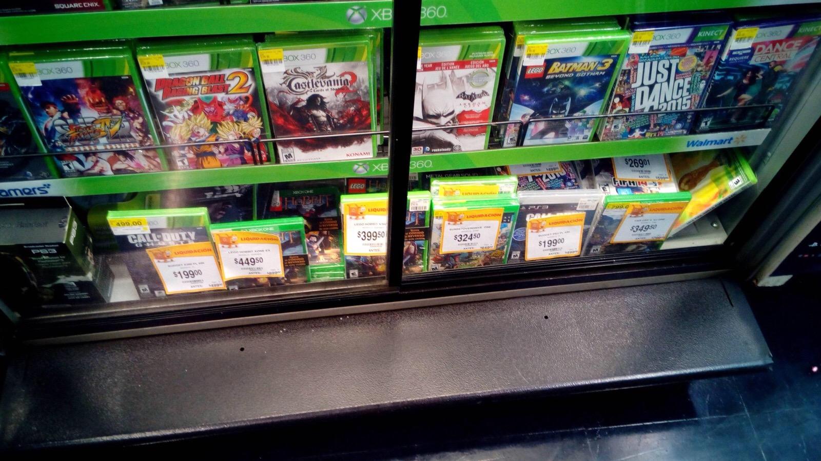 Walmart: Liquidación de Videojuegos para Xbox