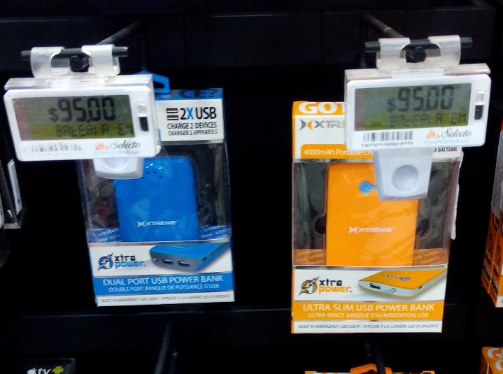 Chedraui Toreo: Pila externa para celular a $95