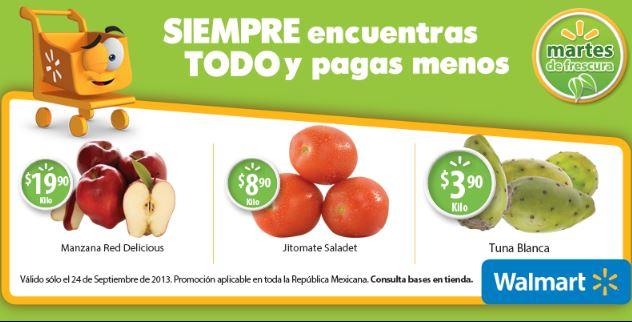 Martes de frescura en Walmart septiembre 24: tuna $3.90 el kilo y más