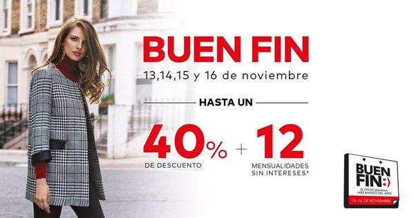 Promociones del Buen Fin 2015 en tiendas de ropa, zapatos y accesorios