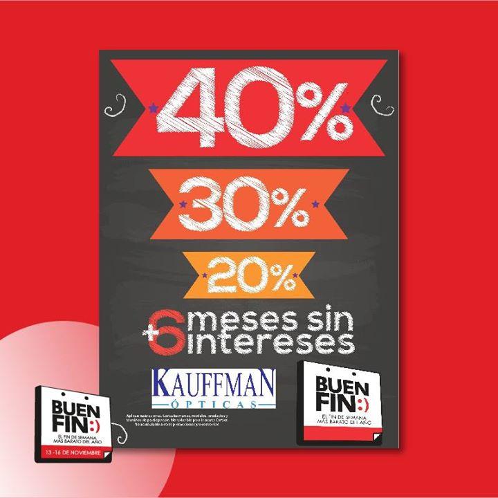 Promociones del Buen Fin 2015 en Ópticas Devlyn, Kauffman y Sunglass Hut
