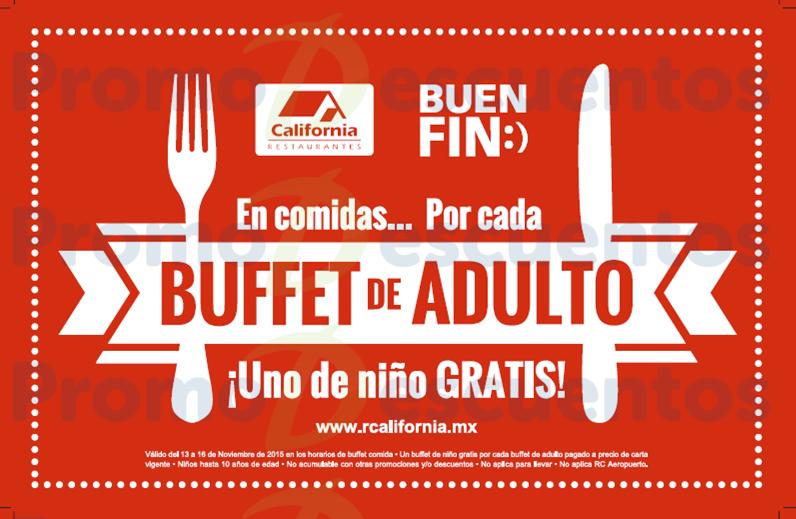 Promociones del Buen Fin 2015 en restaurantes California, Hooters, Applebee's, Panda Express y más