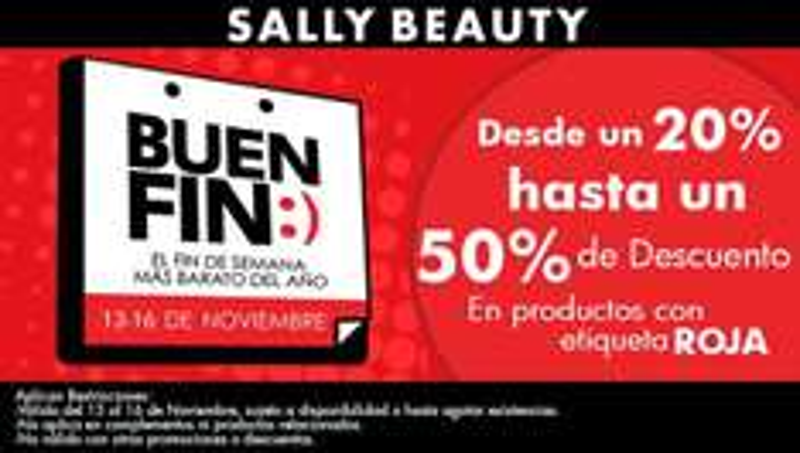 Promociones del Buen Fin 2015 en Body Shop, Yves Rocher, Sally y Natural Scents