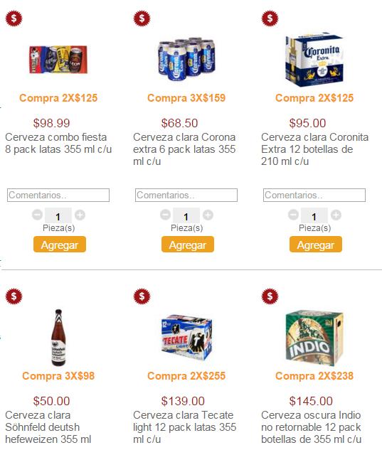 Superama: 24 Coronitas o 16 latas 355ml por $125
