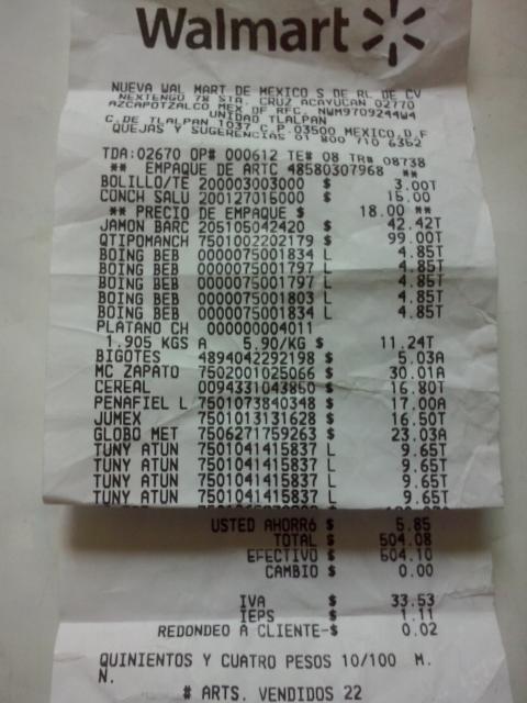 Walmart: Zapatos a 30.01