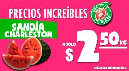 Miércoles de Plaza en La Comer noviembre 11: sandía $2.50 el kilo y más