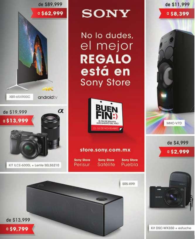 Promociones del Buen Fin 2015 en Sony Store