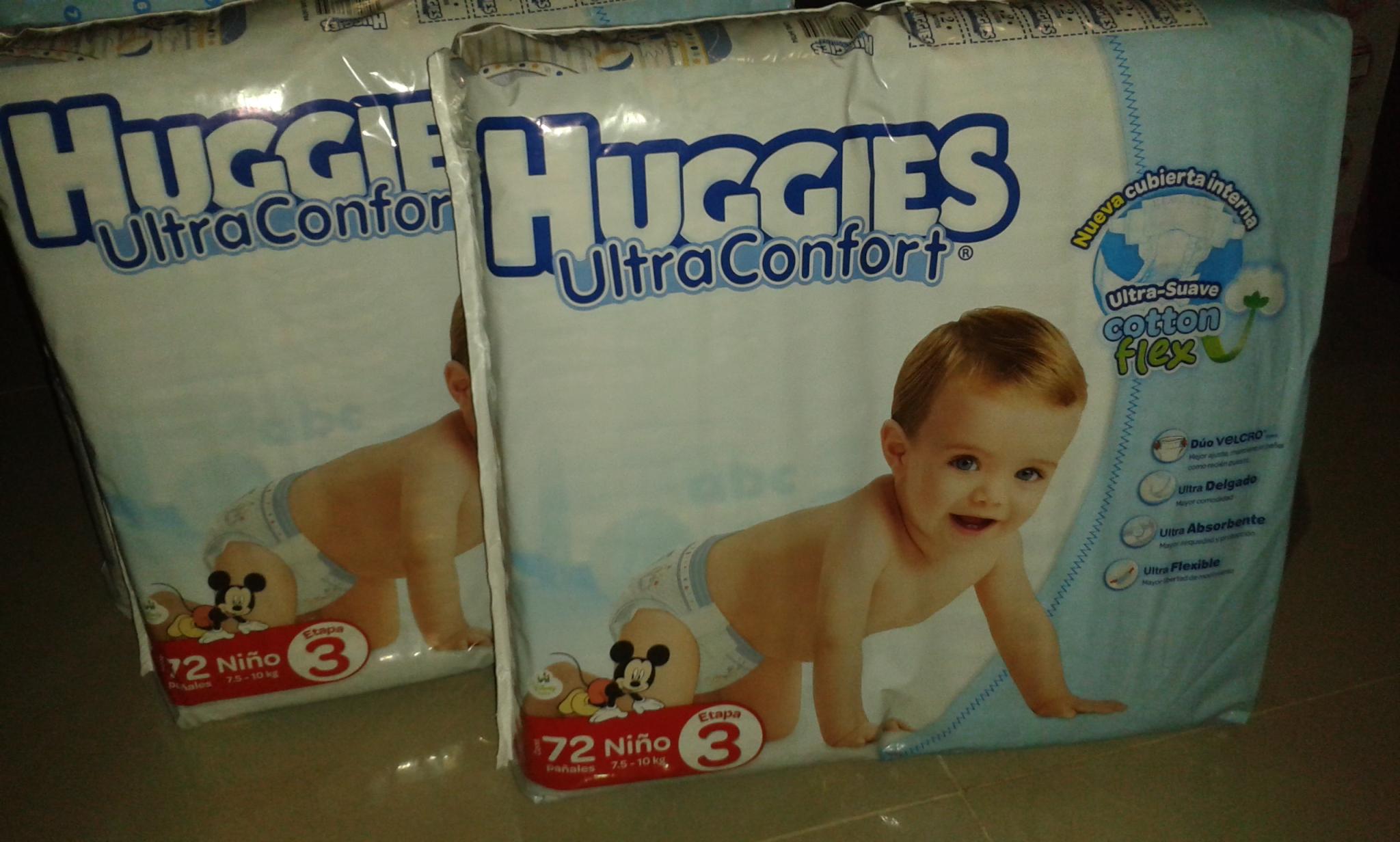 Chedraui: Pañales Huggies Ultraconfort 72pzas talla 3 para niño a 26 pesos