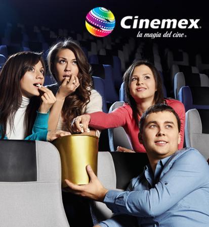 Pontebuso: Boletos de Cinemex sala tradicional de lunes a domingo $23