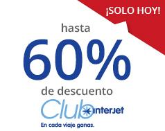 Promociones del Buen Fin Interjet 2015: hasta 60% de descuento (preventa Club Interjet)