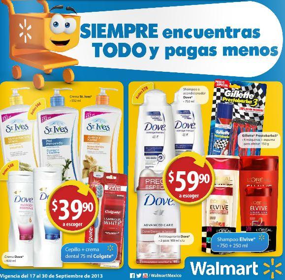 Folleto Walmart del 17 al 30 de septiembre