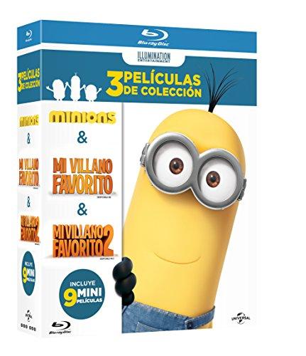 Amazon MX, Boxset Mi Villano Favorito 1 + 2 + Minions [Blu-ray]
