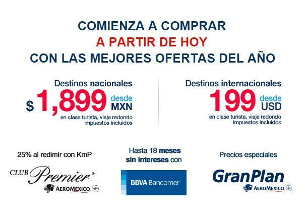 AEROMEXICO Promociones del Buen Fin 2015