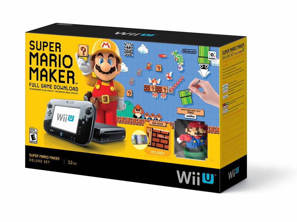 Ofertas El Buen Fin Liverpool : Wii U 32 Gb edición Mario Maker + amiibo $5,099