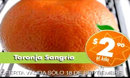 Miércoles de Plaza en La Comer septiembre 18: toronja $2.90 y más