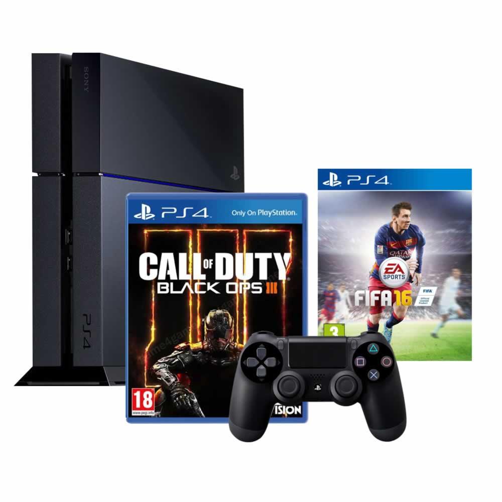 El Buen Fin en Walmart: PS4 Fifa16 + CoD Black Ops 3 $5,816 con Banamex