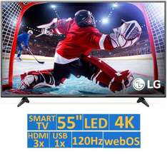 El Buen Fin en Walmart: TV LG 55 Pulgadas 4K Ultra HD Smart TV LED ($11,658 con Banamex 18MSI)