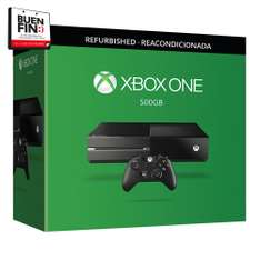 El Buen Fin en Walmart: Consola Xbox One 500 GB Refurbished $4,999