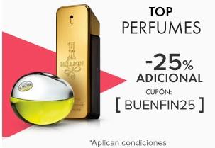 Linio: Seleccion de perfumes con 25%  y 30% desde app