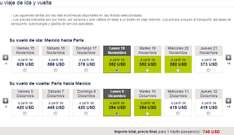 Air France: México – Paris $746 dólares redondo