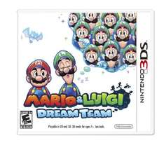 Amazon Mexico: Mario and Luigi: Dream Team - Nintendo 3DS $480