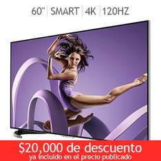 "Costco: Smart Tv 4K 60"" wifi Modelo: LC60UD27U"